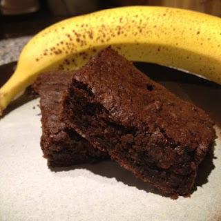 Paleo Banana Brownies