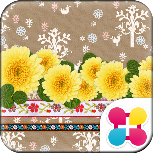 Cute Theme Country Marigold Icon