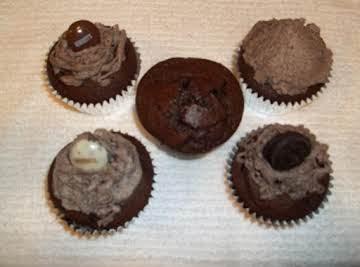 Chocolate Lovers Oreo Cupcakes