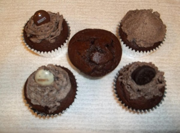 Chocolate Lovers Oreo Cupcakes Recipe