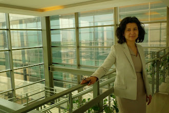 Photo: Dr Choman Hardi, Kurdish poet and scholar, women rights activist, American University of Suleymaniya, April 2015