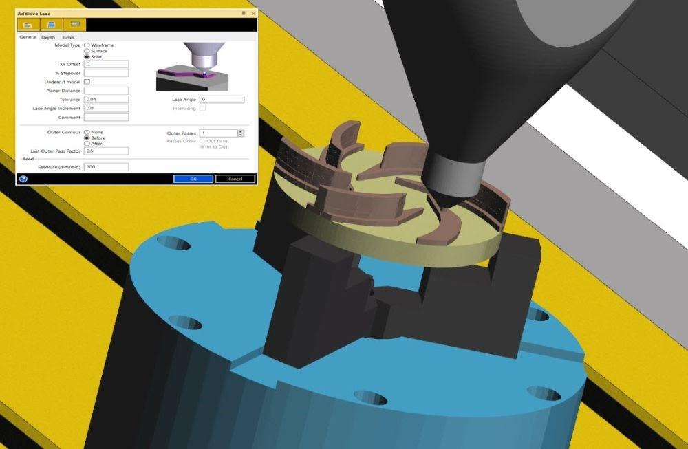 Surfcam 2019 R1 включает в себя новый модуль для аддитивной обработки