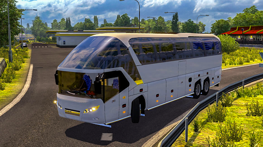 Offroad Tourist Bus Uphill Mountain Drive 1.0 screenshots 2
