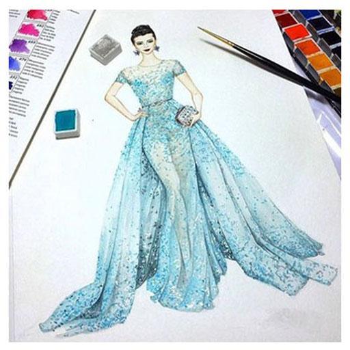 Sketches Of Fashion Design