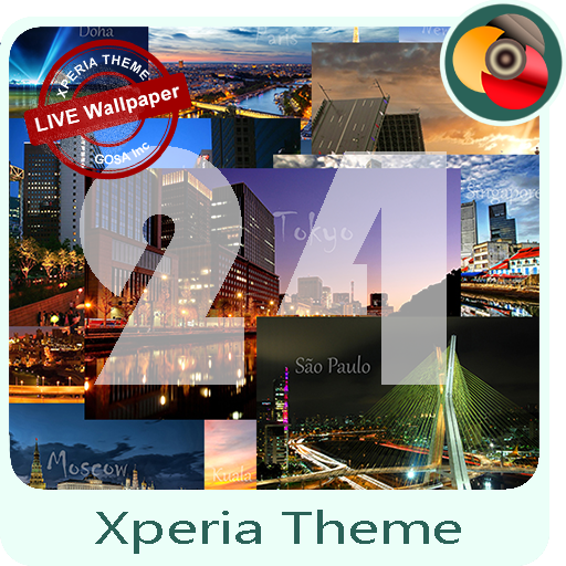Xperia™Theme | 24 cities - only now free