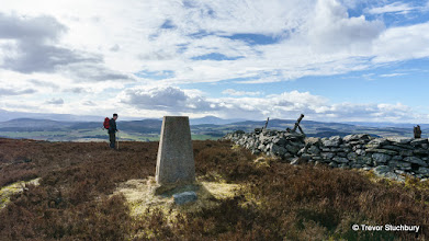 Photo: Trig Point at Summit of Benaquhallie