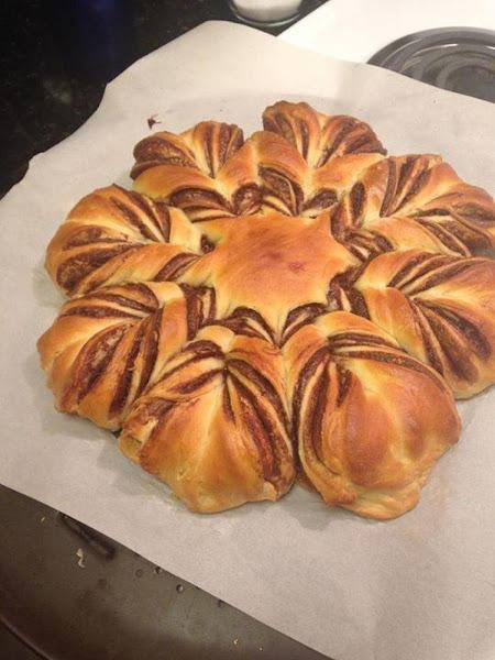 Tina's Nutella Starburst Bread Recipe