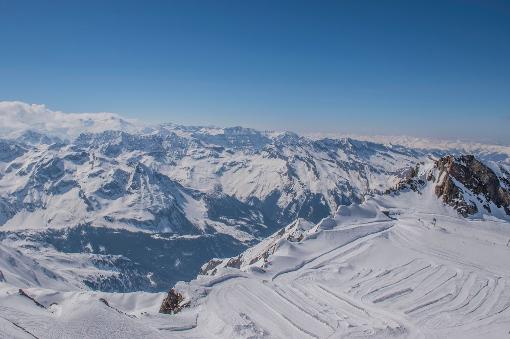 Kitzsteinhorn-wintersport