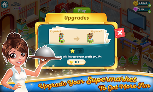 Supermarket Tycoon MOD APK 1.58 [Unlimited Money + No Ads] 3