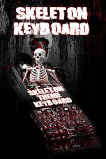 Keyboard Theme Skeleton - náhled