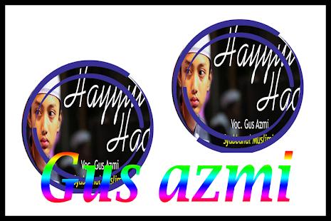SHOLAWAT TERBAIK GUS AZMI MP3 - náhled