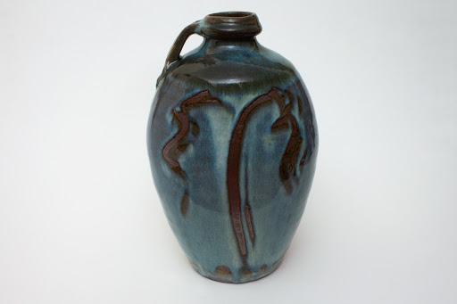Mike Dodd Large Ceramic Bottle 01