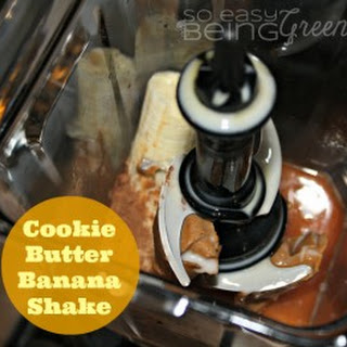 Cookie Butter Banana Shake [+ a review of the Ninja Ultima Blender]