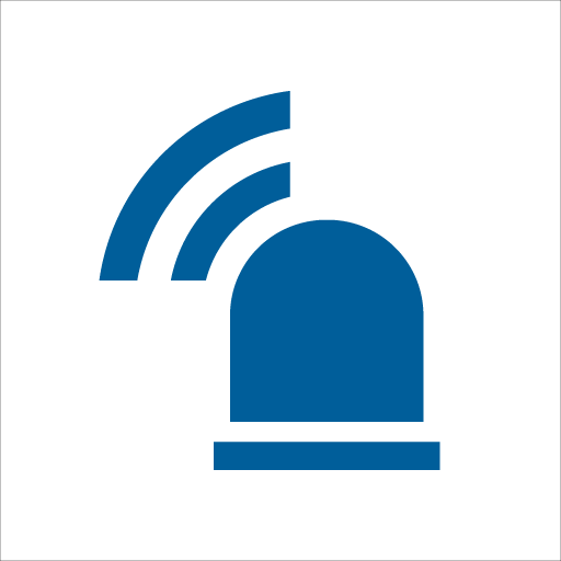 blaulicht SMS Icon