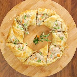 Chicken Pot Pie Crescent Ring.