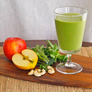 Cashew Apple Green Smoothie.
