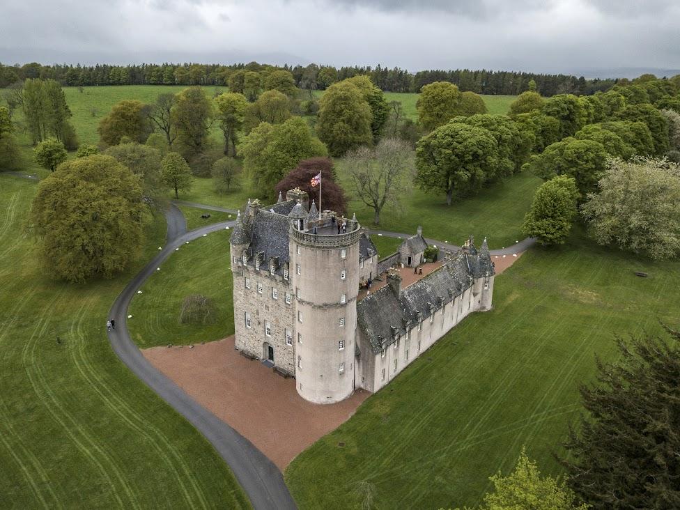 Fraser Castle, Szkocja
