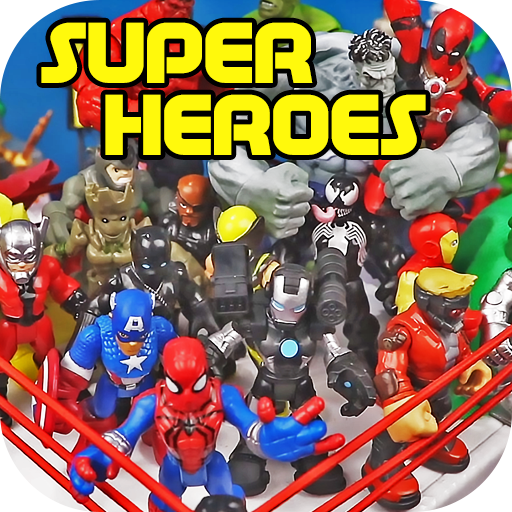 Toy Collections: Super Heroes