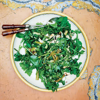 Grilled Green Salad with Coffee Vinaigrette recipe | Epicurious.com.