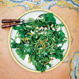 Grilled Green Salad with Coffee Vinaigrette recipe | Epicurious.com.