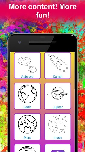 Indir Planet Coloring Pages Space Coloring For Kids Apk Son