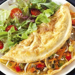 Asian Vegetable Omelette