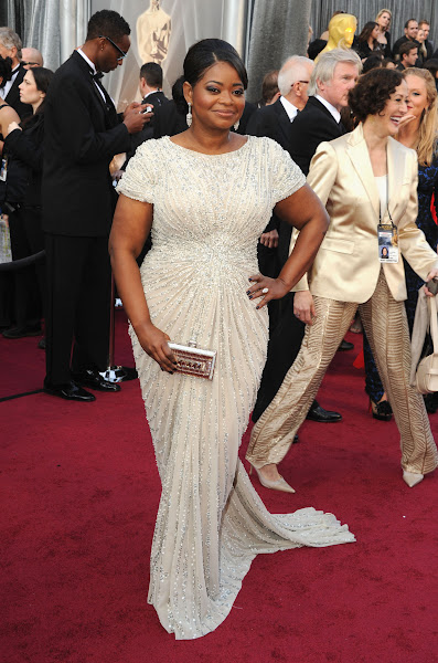 Photo: HOLLYWOOD, CA - FEBRUARY 26:  Actress Octavia Spencer in Tadashi Shojiarrives at the 84th Annual Academy Awards held at the Hollywood & Highland Center on February 26, 2012 in Hollywood, California.  (Photo by Steve Granitz/WireImage)
