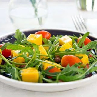 Mangoes and Cherry Tomatoes Salad