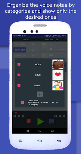 Opus Player - WhatsApp Audio Search and Organize 2.3.5 screenshots 7