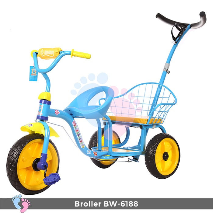 Xe đạp đẩy ba bánh Broller XD3-6188 4