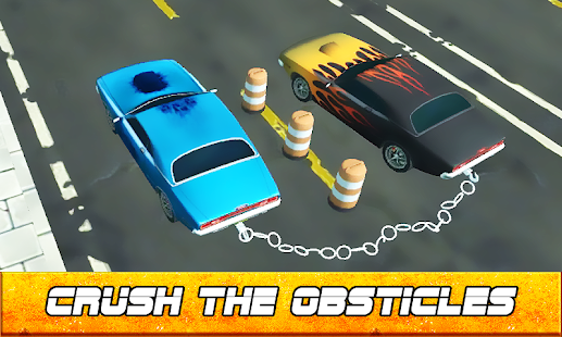 Chained Cars 3d - City Rush Race - náhled