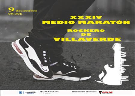 Abierto el plazo de inscripciones para el XXIV Medio Maratón Rockero de Villaverde