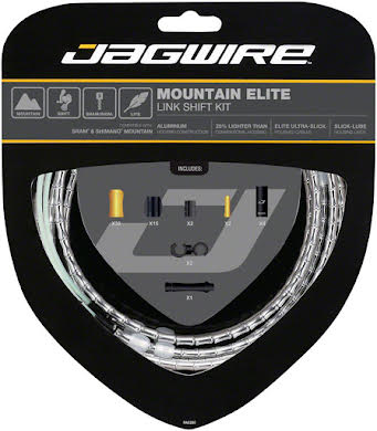 Jagwire Mountain Elite Link Shift Cable Kit with Ultra-Slick Uncoated Cables alternate image 14