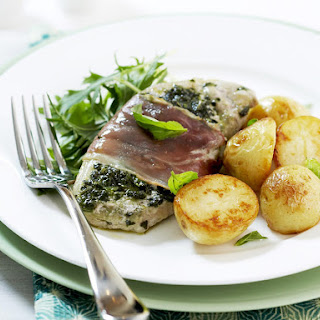 Prosciutto Pork with Roasted Potatoes.