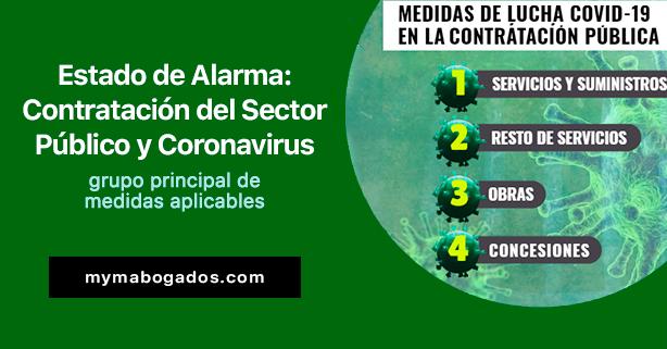 Estado de Alarma: Contratación del Sector Público y Coronavirus