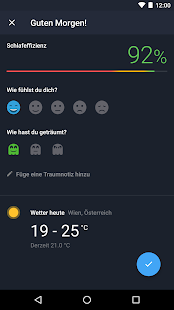 Runtastic Sleep Better - Schlafphasen und Analyse Screenshot