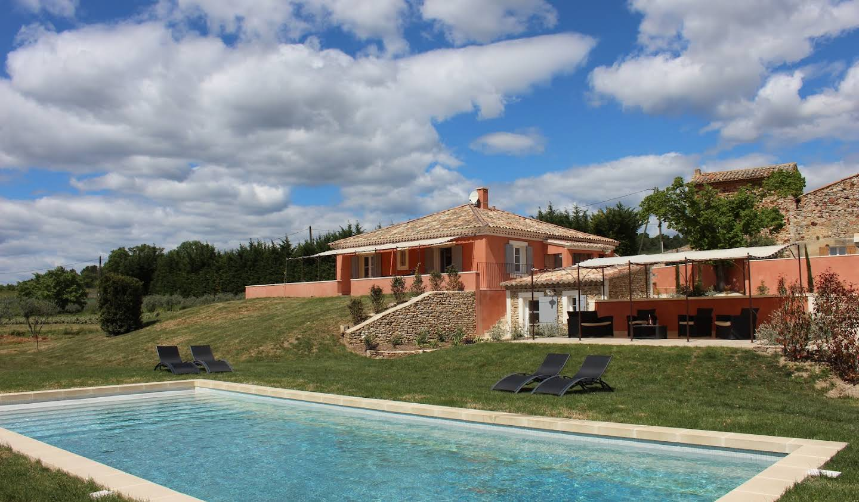 Maison avec piscine et jardin Roussillon