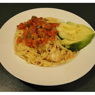 Fettuccine With Chicken Cream Sauce