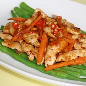 "Thai Chicken ""Pad Cha"""