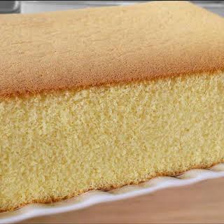 Honey Castella (Kasutera) Cake (蜂蜜蛋糕).
