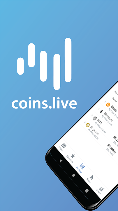 live cryptocurrency app