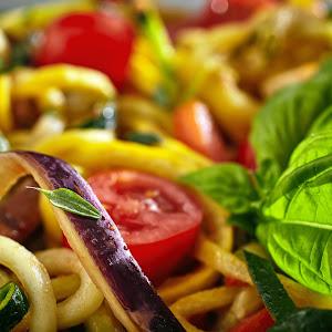 Pan Roasted Ratatouille Vegetables