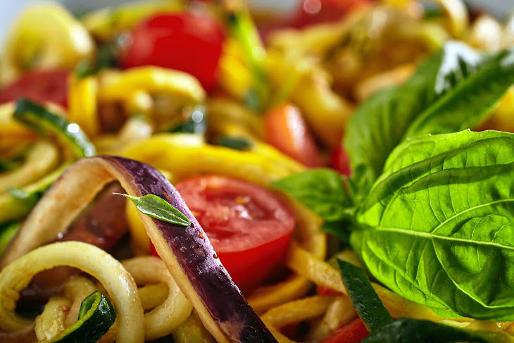 Pan Roasted Ratatouille Vegetables Recipe