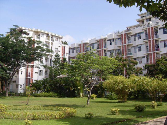 Khu căn hộ chung cư Hưng Vượng thuộc khu đô thị Phú Mỹ Hưng