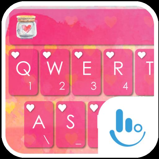 True Love Keyboard Theme