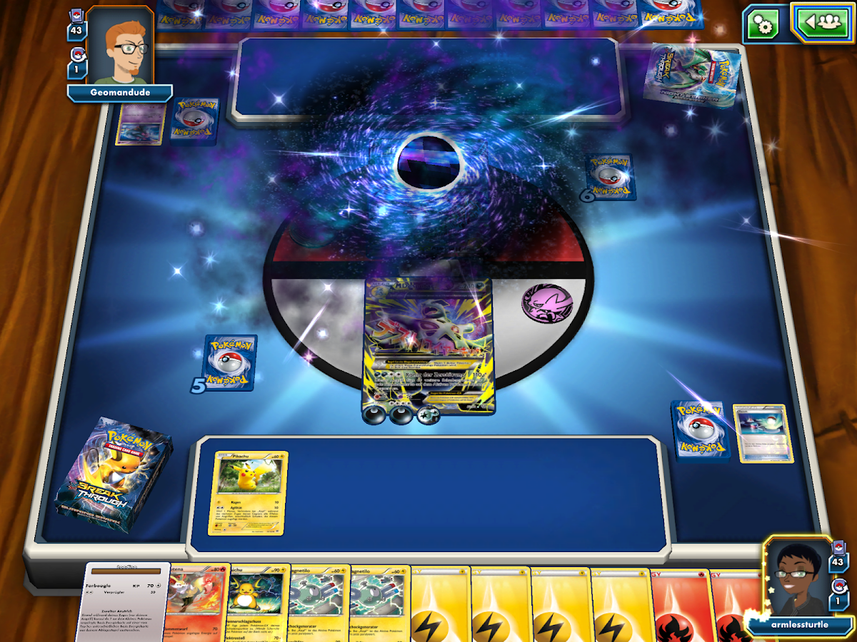 how to play pokemon trading card game on android