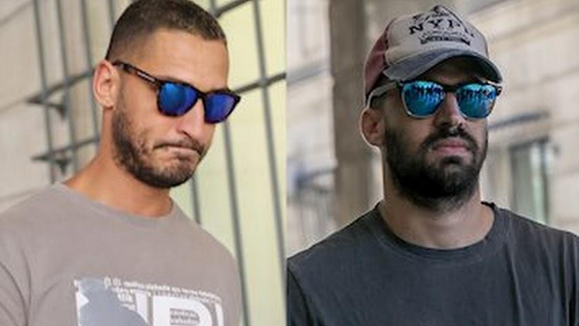 Los dos condenados por la grabación de vídeos.