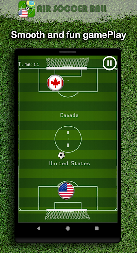 Air Soccer Ball ⚽ 🇺🇸 4.8 screenshots 1