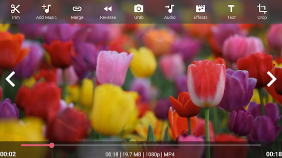 App AndroVid - Video Editor APK for Windows Phone