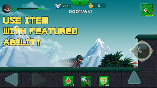 Randy Ninja Cunningham game (apk) free download for Android/PC/Windows screenshot